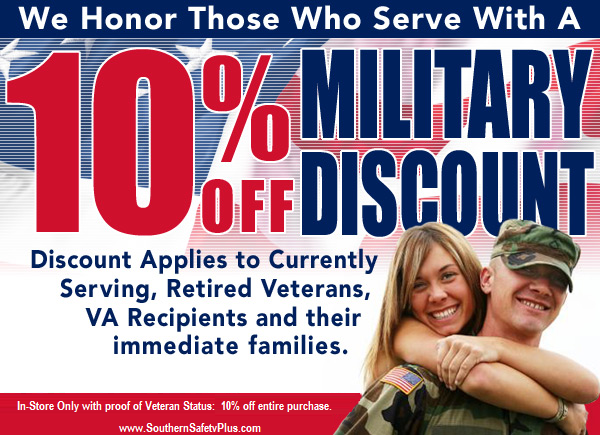 10 Percent Off In Store Purchase Veterans Status