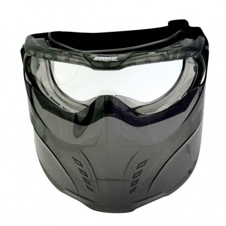 Full Face Safety Goggle with Detachable Face Shield